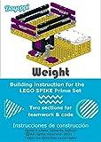 Weight: Building instruction for the LEGO SPIKE Prime set 45678: Báscula: Instrucciones de construcción para el set de LEGO SPIKE Prime (English Edition)