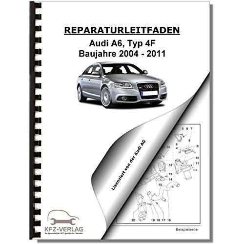 Audi A6, Typ 4F (04-11) 10-Zyl 5,0l Benzinmotor 4V RS6 579 PS Reparaturanleitung