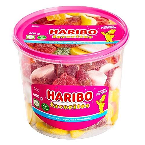 Haribo Maxibox Surtido de Caramelos de Goma, 600g