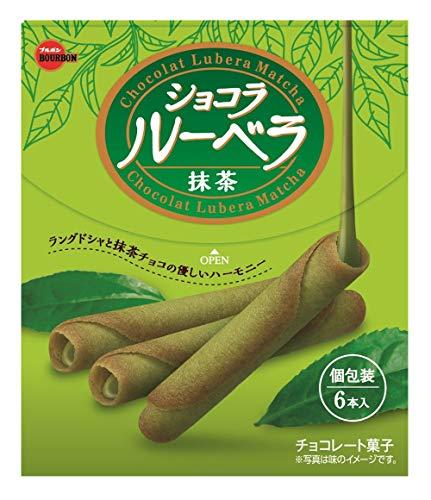 ブルボンショコラルーベラ抹茶6本×10箱