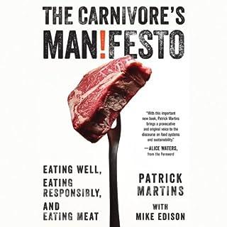 The Carnivore's Manifesto audiobook cover art