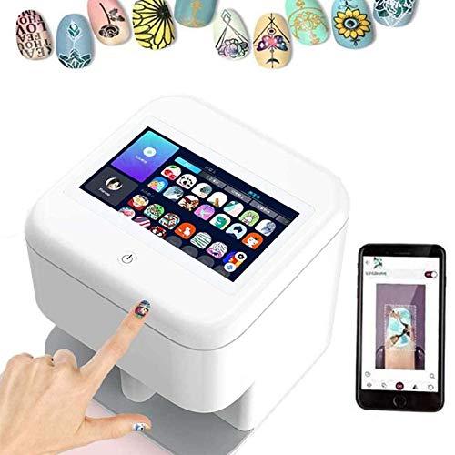 Portable Smart Nail Printer Computer 3D Nail Painting Machine Automatic Nail Printing for Salon Beauty Home