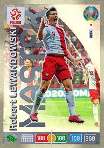 ADRENALYN XL Euro 2020 Robert Lewandowski Master Trading Card - Poland #8