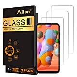 Ailun Screen Protector Compatible for Galaxy A11/M11 3 Pack Tempered Glass Ultra Clear Anti-Scratch Case Friendly
