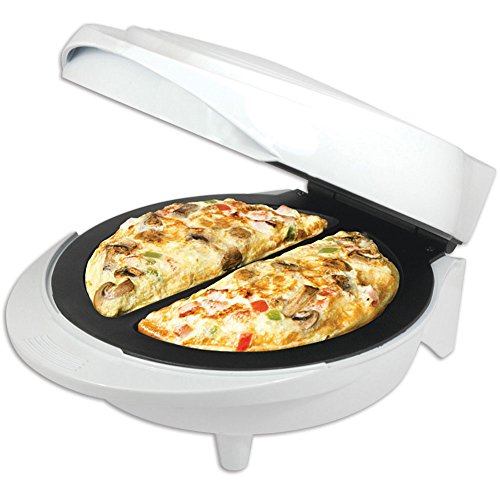 New Non-Stick Electric Double Omelette Maker White