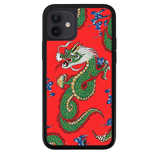 Wildflower Limited Edition Cases Compatible with iPhone 12 and 12 Pro (Red Dragon)