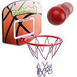 jerryvon Basketballkorb Kinder Mini Basketball Korb Spielzeug mit Ball fürs Zimmer Draußen Drinnen Sportspiele Ballspiele Lernspielzeug Geschenke Kinderspielzeug ab 3 4 5 Jahren Junge Mädchen
