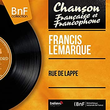 Rue de Lappe (feat. Franck Aussman et son orchestre) [Mono Version]