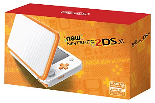 Nintendo New 2DS XL - White + Orange (Renewed)
