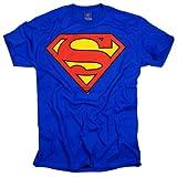 Superman-Classic Logo T-Shirt Size M
