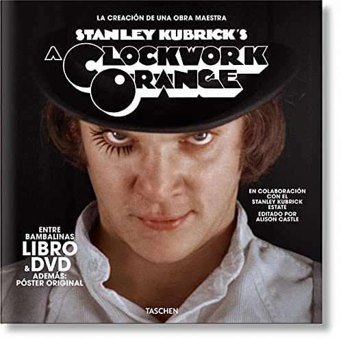 La naranja mecánica de Kubrick. Libro y DVD