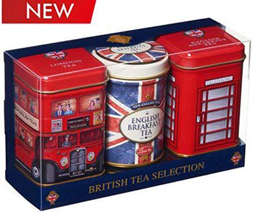 Engelse thee in mini-munten, erfgoedcollectie - 3 x 15-25g verse losse thee 70g - Pack of 3 Beste van de Britten