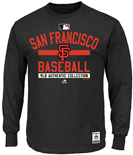MLB Baseball Long Sleeve Shirt SAN Francisco Giants Team Property Authentic Collection in SMALL (S)