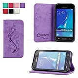 COOVY® Cover für Samsung Galaxy J1 SM-J120 / SM-J120F /