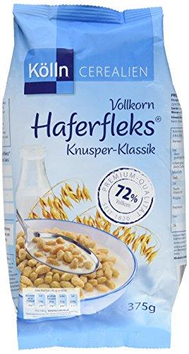 Kölln Vollkorn Haferfleks Knusper-Klassik 6er Pack (6 x 375 g)