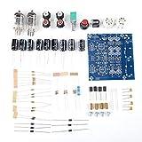 TOPINCN 6J1 Kit Amplificateur à Tube Vide Electron Tube Valve Préampli Amplificateur Conseil Casque Amp Pièces Préamplificateur Musical Fidelity Kit AC12V 0.8A