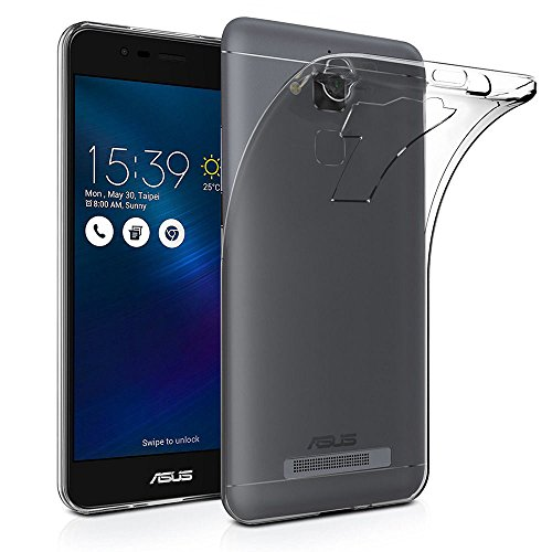 Fashionury Transparent Back Cover for Asus Zenfone 3 Max