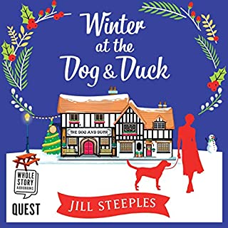 Winter at the Dog and Duck audiobook cover art