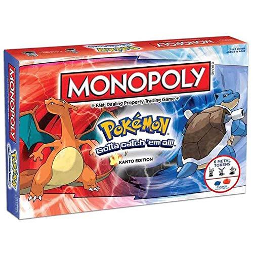 Monopoly Pokemon / Juegos de Mesa Juguetes Juguetes Familia Casos Casual Juegos...