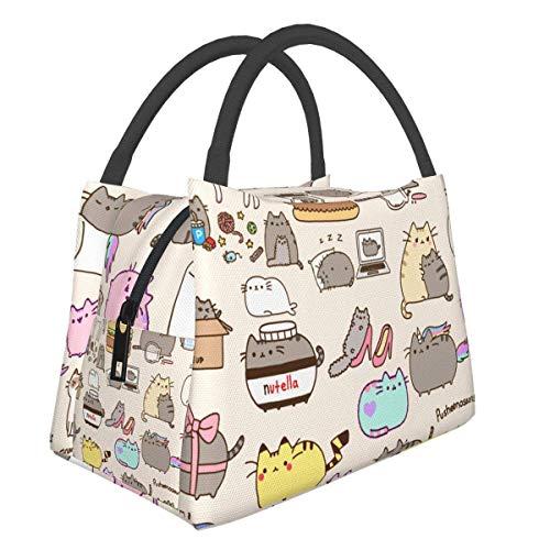 Bolsa de almuerzo con diseño de flamencos coloridos, bolsa más fresca, bolsa de asas para mujer, lonchera con aislamiento, bolsa térmica resistente al agua para mujeres / picnic / pesca / escuela
