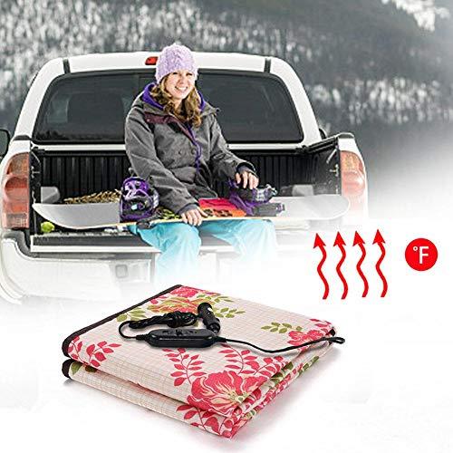 Perfecthome 24 V elektrische autodeken voor sigarettenaansteker, elektrische matras, grote vrachtwagens, elektrische verwarming, kussen voor auto, verwarmingsdeken