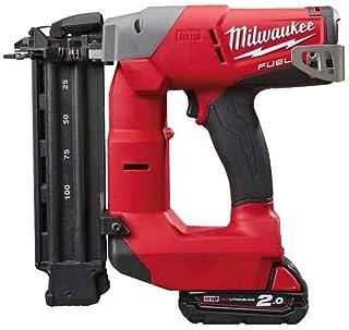 Milwaukee 4933451573 - M18cn18gs-202x 18v m18 Fuel Brushless Nail Type 1.2 mm, 16-54 mm, 2X m18b2