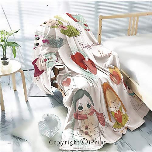 Manta de franela suave y cálida de alta calidad, tarjeta de estilo de colección para el día del padre Vector de pelo plano para todas las estaciones, manta de cama con estampado...