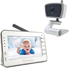 Video Baby Monitor with Portable Camera for Camping or Vacation, 4.3 Inches Big LCD, No WiFi, Long Battery Life, Voice Activation, Auto Night Vision, Temperature Monitoring, 2-Way Talk Back