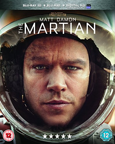 MARTIAN THE 3D BD [Blu-ray] [UK Import]