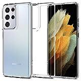 Spigen Funda Ultra Hybrid Compatible con Samsung Galaxy S21 Ultra 5G - Transparente
