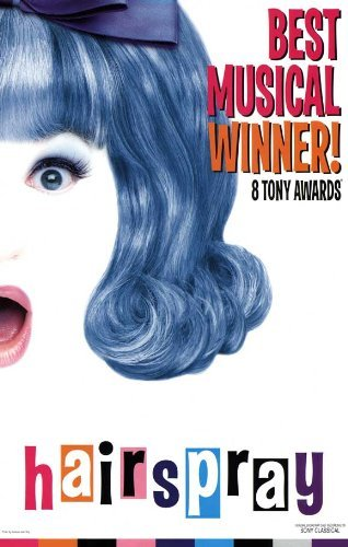 Hairspray (Broadway) POSTER Movie (27 x 40 Inches - 69cm x 102cm) ()