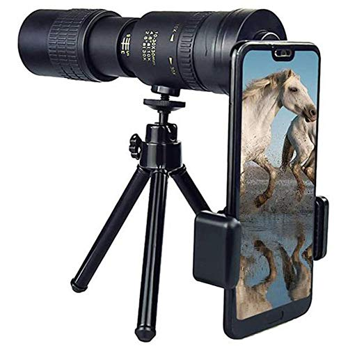 10-300X40Mm Super Telephoto Zoom Monocular Telescope with Tripod Waterproof , Fogproof, HD for Travelling /Camping