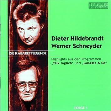 Die Kabarettlegende - Folge 1 (Dieter Hilderbrandt & Werner Schn