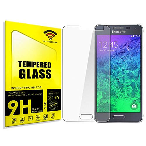 cogac ACTECOM® Protector DE Pantalla Compatible para Samsung Galaxy Grand Prime G530 Cristal Vidrio Templado