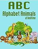 ABC alphabet animals at bedtime (flash cards Book 10) (English Edition)