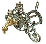 Soporte del Tubo de Manguera del Grifo canilla Hierro Estilo Antiguo Fuente a