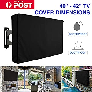 Outdoor TV Screen Cover Waterproof Television Protector for 40-42 inch LCD LED Plasma