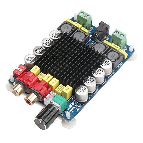 DROK&Reg; TDA7498 Amplificatore di Potenza Digitale Bordo, 100W + 100W Binaural Audio Stereo Amplifier, Amp Computer con Due canali Stereo per Home Theater e Applicazioni diffusore Attivo