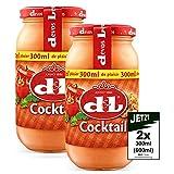Devos Lemmens D & L Cocktail Sauce 2x 300ml (600ml) - ideal zu Geflügel