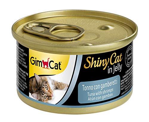 Gimpet ShinyCat Thunfisch mit Garnelen 70g