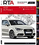 E.T.A.I - Revue Technique Automobile 798 - AUDI A1 - 2010 à 2015