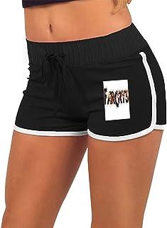 女性のローウエストホットパンツ FARCRY ショートパンツ ファッションエクササイズフィットネスランニング