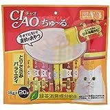 チャオ (CIAO) 猫用おやつ ちゅ~る とりささみバラエティ 14g×20本入