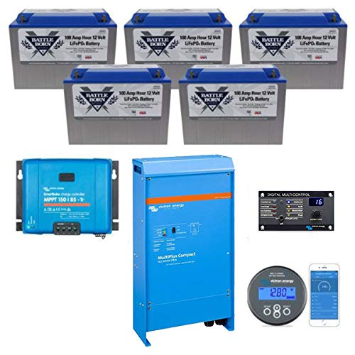 Battle Born Batteries EXPLORIST.Life 500ah Lithium Bundle