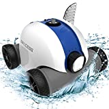 PAXCESS Cordless Automatic Pool Cleaner, Robotic Pool Cleaner with 5000mAh Rechargeable Battery, 90...