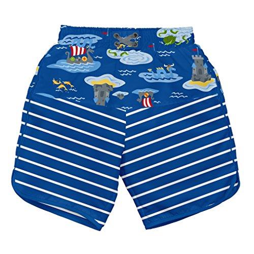 i play. 722154-642-42 Mix und Match Ultimative Schwimmwindel Board Shorts 3-6 Monate, Royal Viking Sea