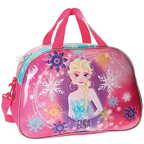 Frozen Elsa Bolsa de Viaje, 40 cm, Rosa