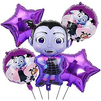 Vampirina Balloons Birthday Party Supplies Perfect Birthday Decoration FitoParty   Disney Party Supply Decorations 21 Balloons and 2 String