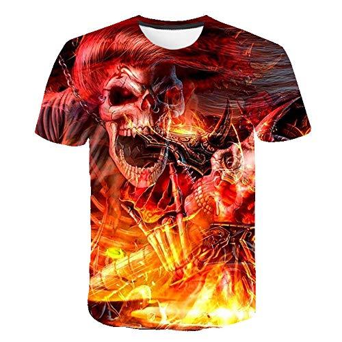 LGLZKA 3D T-Shirt, Printed Short Sleeve, 3D Short-Sleeved Funny...