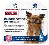 DuoProtect Hund ( 15 kg) | Pflege & Schutz für Hunde | Physikalische Parasitenabwehr | Mit Dimeticon & Aleo Vera | Wirkt bis zu 30 Tage | 3 x 1,5 ml